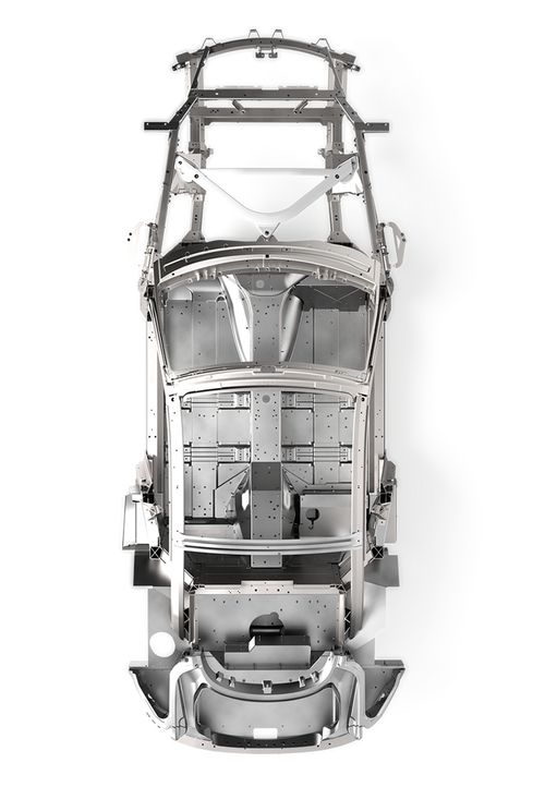 Structural Aluminum Karosserie